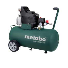 COMPRESOR – METABO BASIC 250 – 50 W