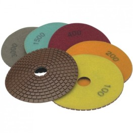 Disc Diamantat de lustruit flexibil, 125mm gr 5000